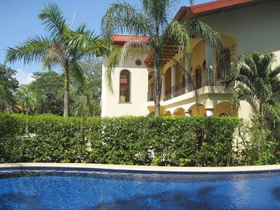Photo for New 2 Br 2 Ba Beach Villa - Tropical Pool - AC / WiFi (Steps to Beach) - Nosara
