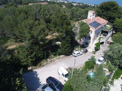 Photo for T3 + terrace on the heights of Martigues, with superb view