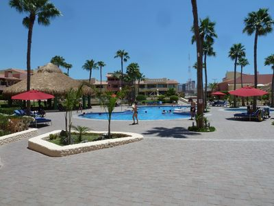 Photo for Beautiful Ground Floor Ocean Front Condo Overlooking the Crystal Blue Waters