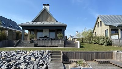 Photo for 8-person Holiday Villa with jetty in Tholen