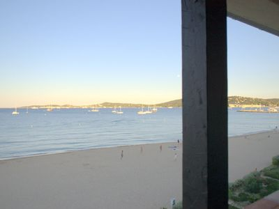 Photo for RARE! On the beach - Exceptional view 6 people - PORT GRIMAUD