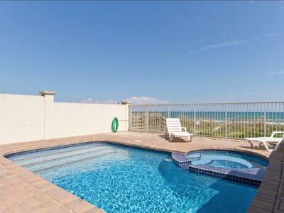 Elegant Beachfront Home with private pool and hot tub! Right On the Gulf!
