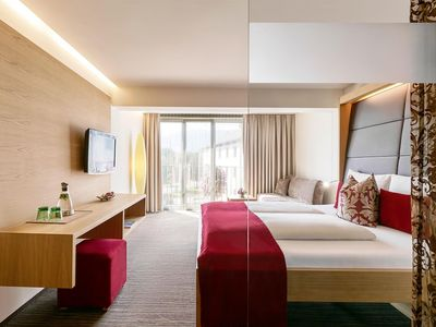 Photo for Double room Schlossblick ����F - Ritzenhof Hotel and Spa at the lake