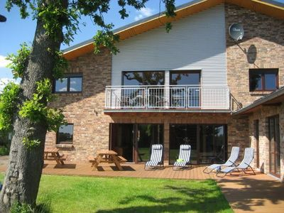 Photo for Large communal area with pool, large garden, centrally betw. North-u. Baltic Sea