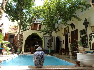 Photo for GENUINE AND TYPICAL RIAD WITH 11 ROOMS AND SUITE IN THE BEST AREA OF MARRAKECH