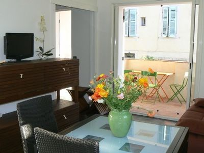 Photo for Newly Renovated , Sunny Flat In The Heart Of The Village Of Cassis.