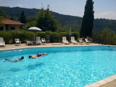 Photo for Trovatore - Residence Casa Lama, 4/6 P large swimming pool, in the heart of Tuscany