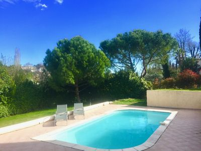 Photo for Villa Top with Pool in Saint Paul de Vence
