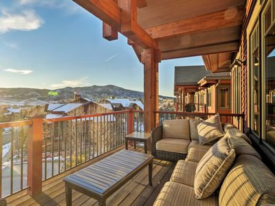 Photo for NEW! Luxury Steamboat Condo - Half Mile to Lifts!