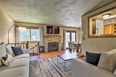 The interior offers just over 1,500 square feet of tasteful interior space.