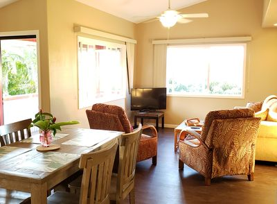 Light and bright - opens to private lanai