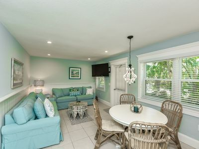 Photo for Palm Tree Paradise A! Adorable Ground Floor 2BR/1B, Literally Steps To Beach