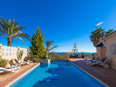 Photo for AMBIENTE, beautiful villa for 10 pax with private pool in Calpe, free wifi