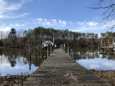 Waterfront Summer Cottage Is Located On A Tributary Off Of The Patuxent River