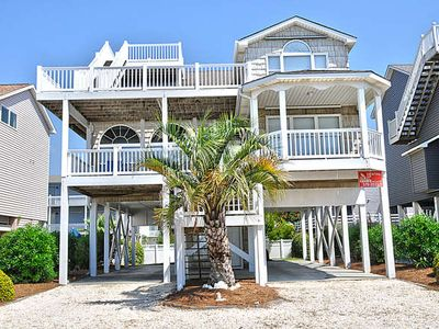 Photo for E1 209, Step into this 5 bdr, 4 bath great beach house with widow's watch for your viewing pleasure