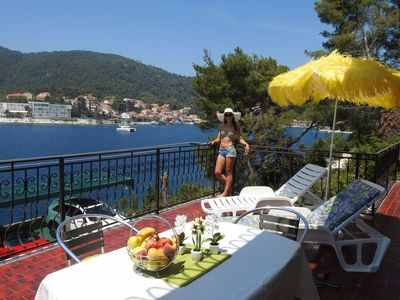 Photo for Apartment Mari  A1(6+2)  - Brna, Island Korcula, Croatia
