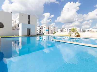 Photo for Tulipanes Beach apartment in constituyentes streeet