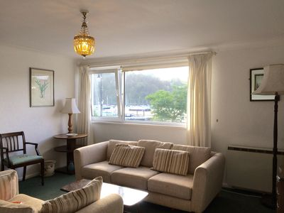 Photo for 2 bedroom apartment in central Dartmouth with parking and stunning views
