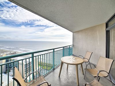Photo for NEW-Myrtle Beach Resort Condo w/Pool, Beach Access