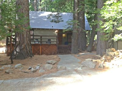 Photo for 1BR Cabin Vacation Rental in Twin Bridges, California