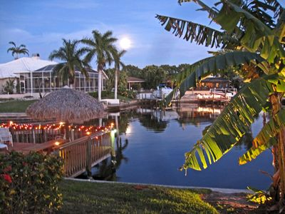 Photo for Relaxing Waterfront Villa in Cape Coral's Historic Rose Garden!