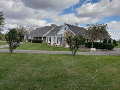 Indoor Pool, Hot Tub, Fireplaces, Golf, Park-like setting  Family Reunion  Place! - Winchester