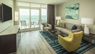 Photo for Awesome Ocean 22 By Hilton 2-Bedroom Luxury Suite Available Peak Season 2018