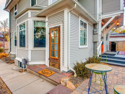 Photo for Art-Filled Apartment Two Blocks from Heart of Old Colorado City