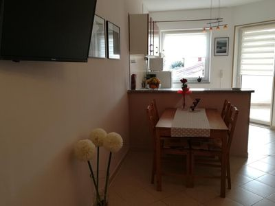 Photo for Tramonto is a two bedroom pet friendly apartment suitable for 4 to 6 people.