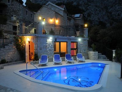 Photo for ctma 121 - Traditional stone house with heated pool and whirlpool