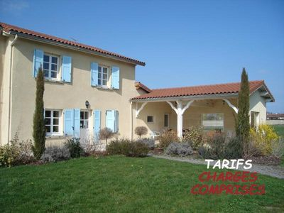 Photo for Gite Chalain-le-Comtal, 4 bedrooms, 10 persons