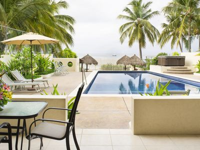 Photo for On the Beach Condo in Punta Mita - Credit Cards Accepted