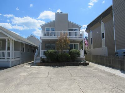 Photo for Quiet residential area only 2 block walk to beautiful beach! Off-street parking for 1 large vehicle.