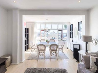 Photo for Elegant Seaview Terrace Apartment in Sea Point