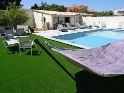 Photo for APARTMENT RDJ IN VILLA WITH SWIMMING POOL AND SPA