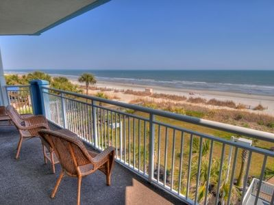 Photo for Beautiful 4 BR/4 BA Oceanfront Condo in Myrtle Beach, SC