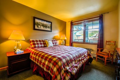 Sleep in style in the Master King bedroom