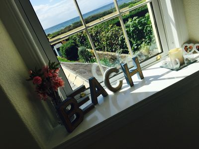 Photo for 35 mins from Glasgow - Stunning Troon Beach front house with fab views