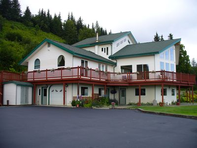 Photo for Peaceful Setting With Therapeutic Views Of Kachemak Bay And Surrounding Glaciers