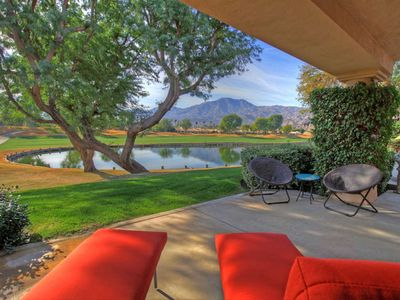 Photo for 166LQ  HOME IN PGA WEST TPC STADIUM COURSE LAKE,MOUNTAIN & FAIRWAY VIEWS