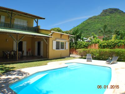 Photo for Large villa for rent in Tamarin R. Black. Mauritius
