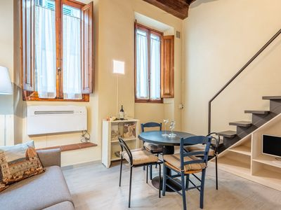 Photo for Studio apartment to rent near Piazza Pitti, a delightful apartment in the heart of Santo Spirito