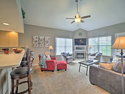 Photo for Penthouse Condo w/Pool Mins to Silver Dollar City!