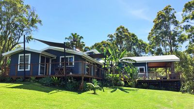 Photo for 100 acres on Wallis Lake private jetty lawns, tennis court,  gardens lake fron