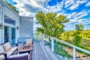 The East Overlook Deck offers amazing views of the Indiana Dunes National Lakeshore.