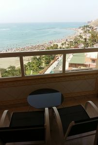Photo for Puerto Marina Benalmadena. FIRST LINE with frontal views 8th floor. BEACH