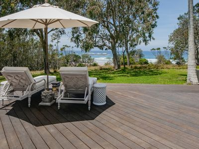 Photo for A stunning beachfront home, luxuriously furnished to the highest standards.