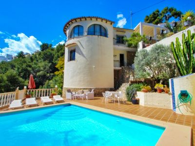 Photo for Monica II - holiday home with private swimming pool in Benissa