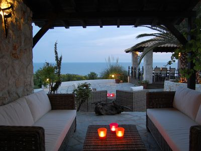 Photo for aegeon - time for two: quiet, idyllic, small resort, south coast of Kassandra