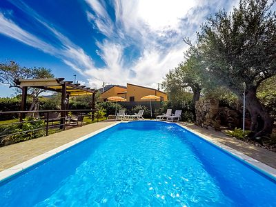 Photo for 3 bedroom Villa, sleeps 6 in Capo with Pool, Air Con and WiFi
